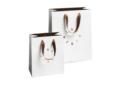 Bolsas personalizadas en papel couche
