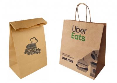 Bolsas personalizadas para restaurantes/delivery