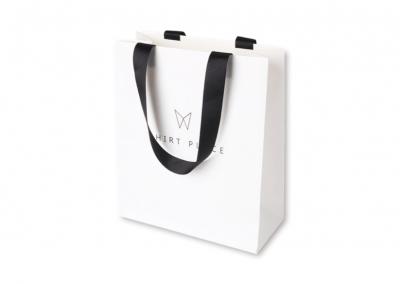 Bolsas personalizadas con asas listón